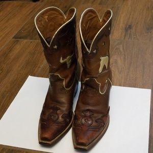 Ariat Women's Wingtip Boots 6.5B